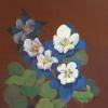Katalina's Columbines Original Acrylic Painting by Ginny Abblett SOLD
