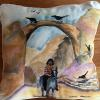 Through the Arch    pillow  $52 SOLD